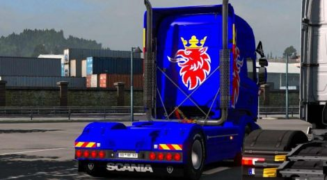DLC support for Scania RS by RJL