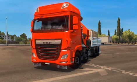 DAF XF 106 Rigid