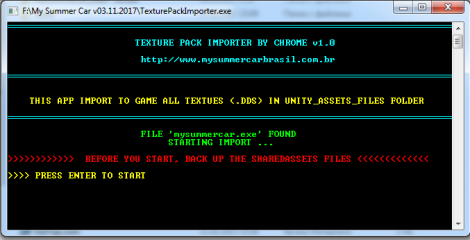 Texture Pack Importer Tool