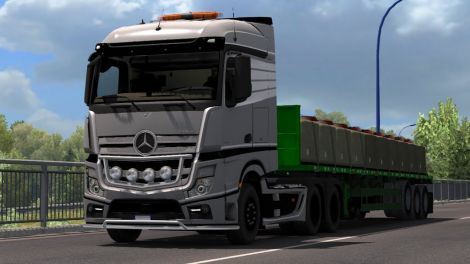Mercedes-Benz Actros MP4 Sound