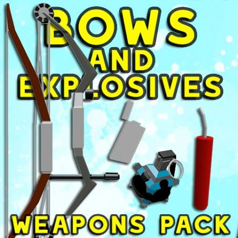 The Bows & Explosives Weapons Pack