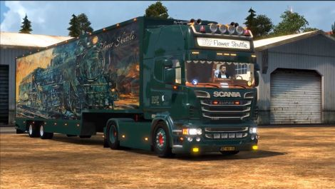 Scania DQF Flower Shuttle