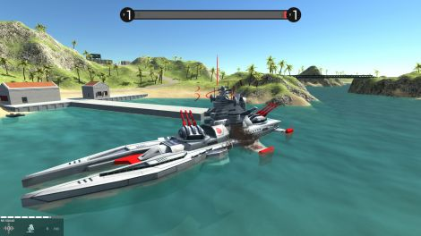 Red Alert 3: Shogun Battleships