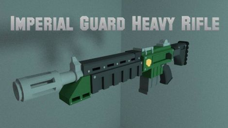 Imperial Guard Heavy Rifle