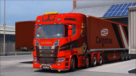 Scania S Series + Interior