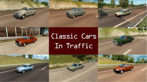 Classic Cars Traffic Pack