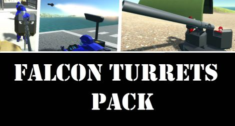 Falcon Weapon Emplacements - Pack