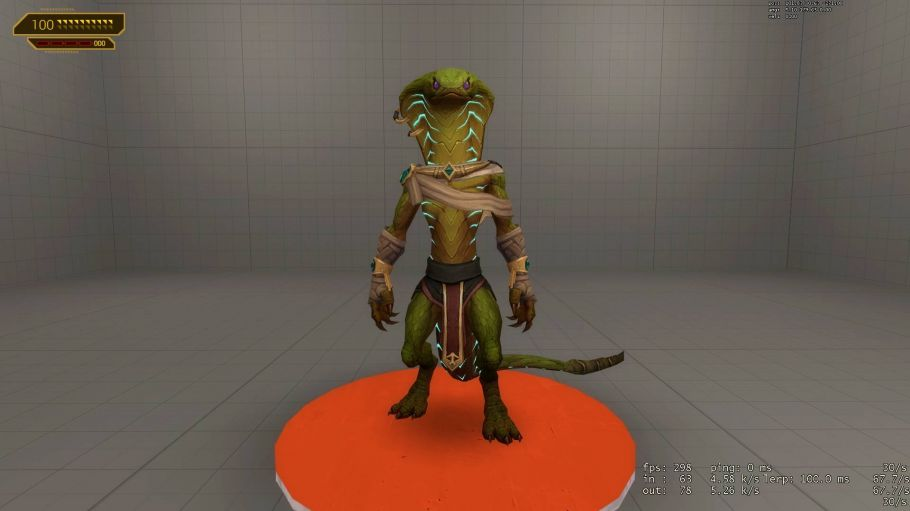 Скачать мод «World of Warcraft: BfA Sethrak Playermodel» для