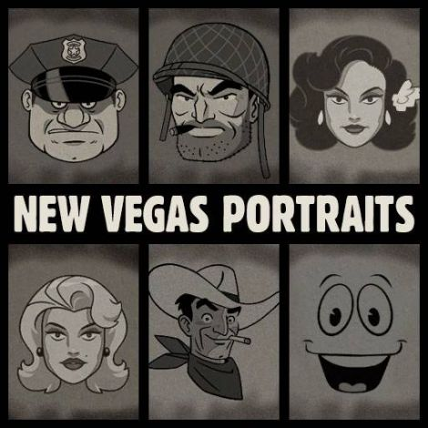 Old World Blues - New Vegas Portraits & Generals