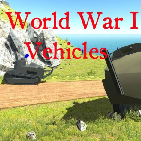 WW1 Vehicle Pack