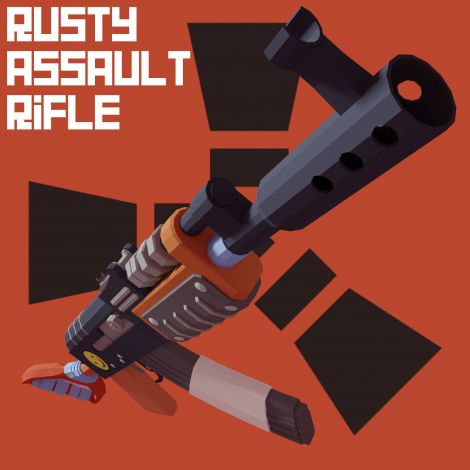 Rusty Assault Rifle