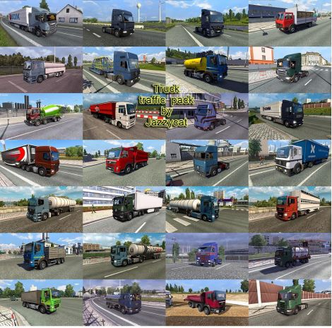 Fix for Truck Traffic Pack by Jazzycat