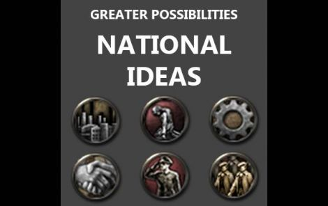 Greater Possibilities: National Ideas