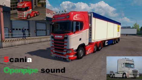 Scania Openpipe sound