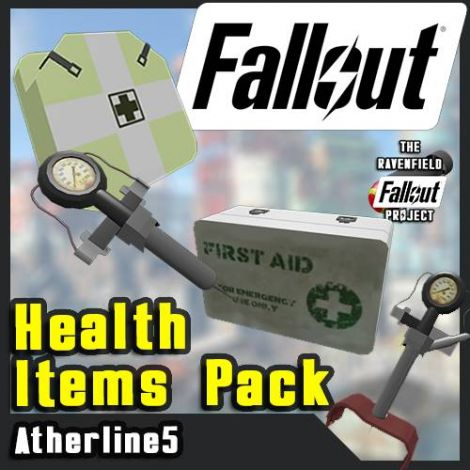 [Fallout Project] Stimpaks and Medikits