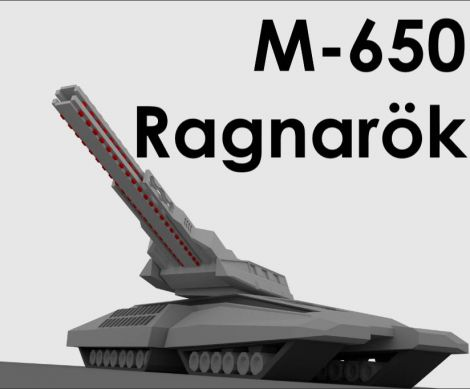 M-650 Ragnarök [Helios Weapons &Tech/Horizon]