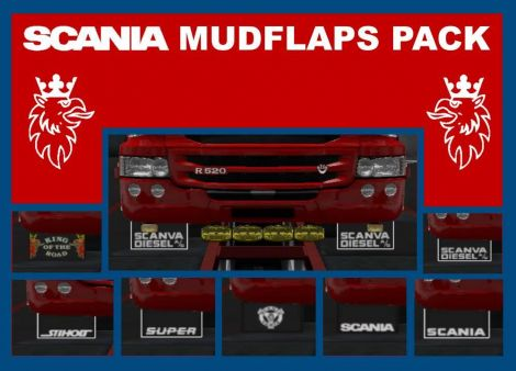 Scania Mudflaps Pack