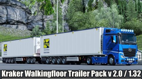 Kraker Walkingfloor Trailer