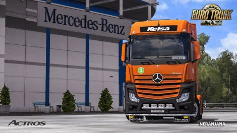 Mercedes Actros MP4 Edited