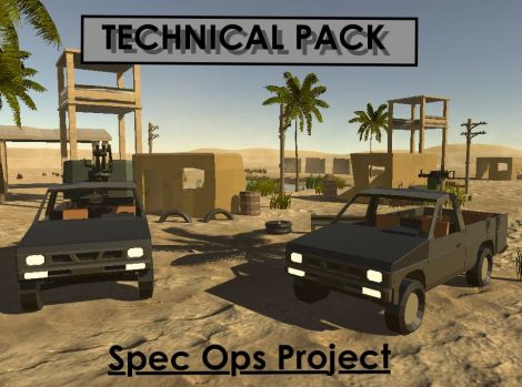 Technical Pack (Spec Ops Project)