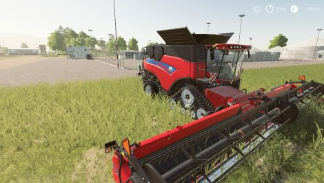 New Holland CR110r and header pack