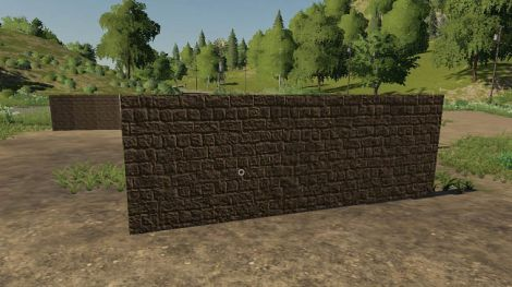 Placeable walls set 5m, 10m, 10mround