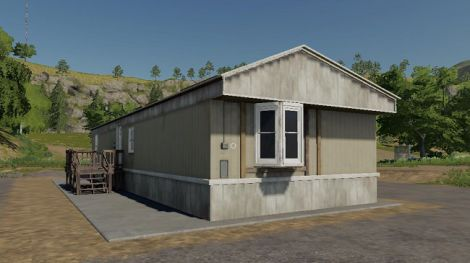 Old Trailer Home