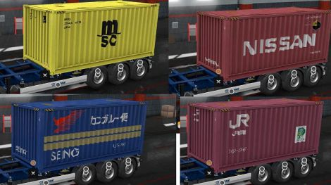 Real Company Container Trailers