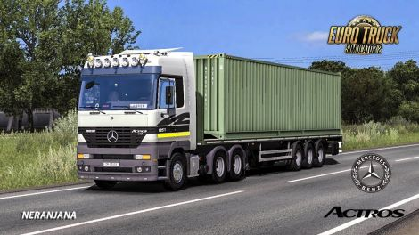 Mercedes Actros MP1 Edited