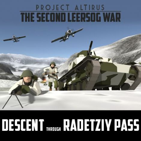(PA - 2LW) Descent Through Radetziy Pass (Includes Configurable Version)