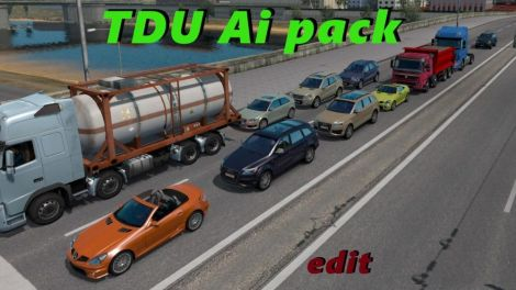 TDU Traffic Pack + Sounds