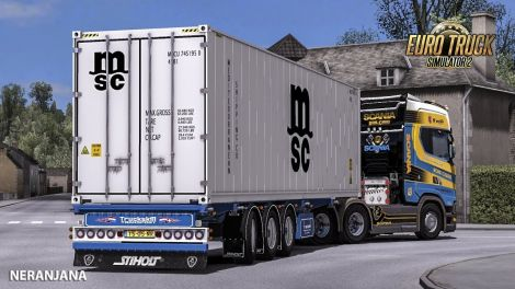 Ownable Truckskill Container Trailer