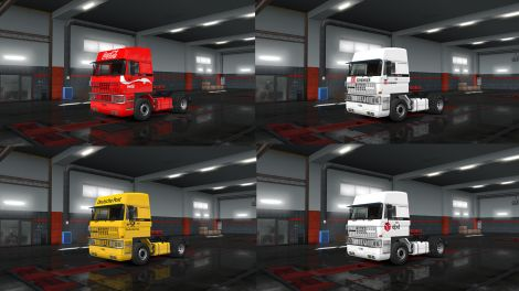 Skin Pack For DAF F241