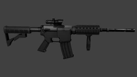 [Project WW3] M4A1 (1st version)