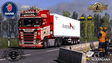Next Gen Scania V8 Stock Sound Mod