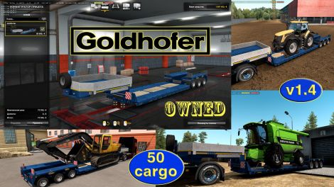 Ownable trailer Goldhofer