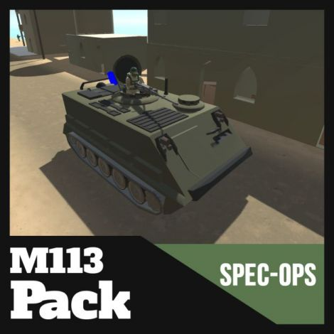 M113 Variants (SPEC OPS)