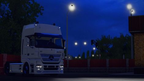 Mercedes Actros MP2 Max Space concept
