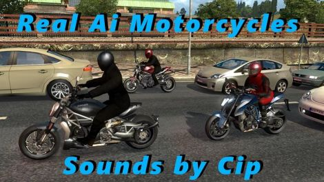Звуки для пака Motorcycle Traffic Pack от Jazzycat