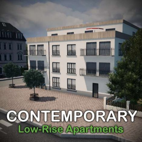 Contemporary Low-Rise Apartments