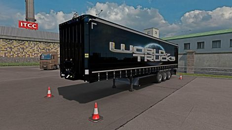Скин World of Trucks для Krone Profi Liner