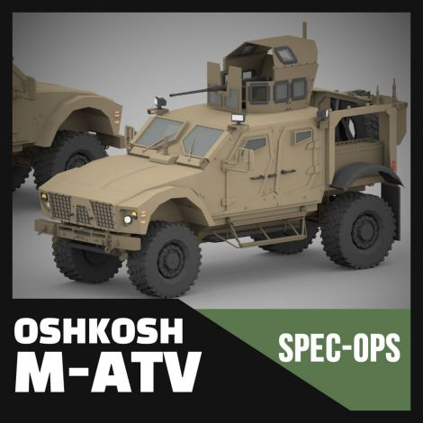 Oshkosh M-ATV (Spec Ops Project)