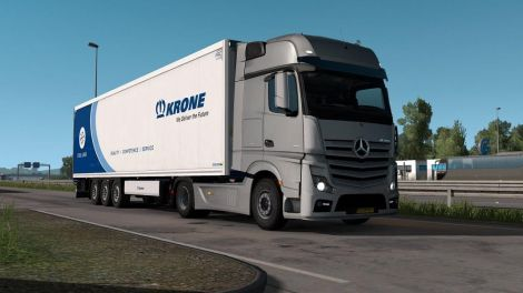 Mercedes Actros OM471 engine sound