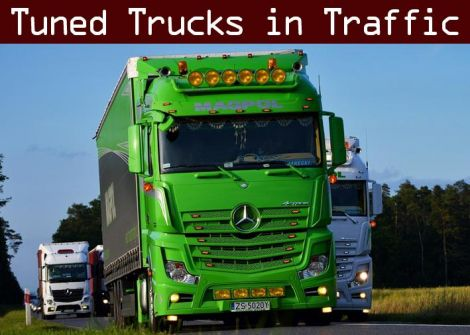 Tuned Truck Traffic Pack by Trafficmaniac
