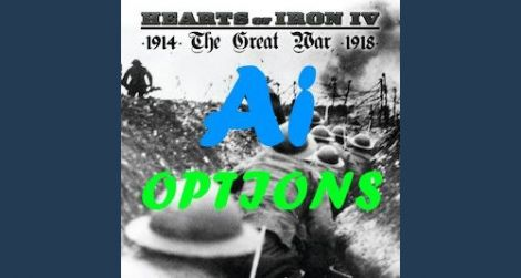 Great War: Options to AI