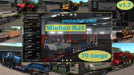 Ownable overweight trailer Wielton NJ4