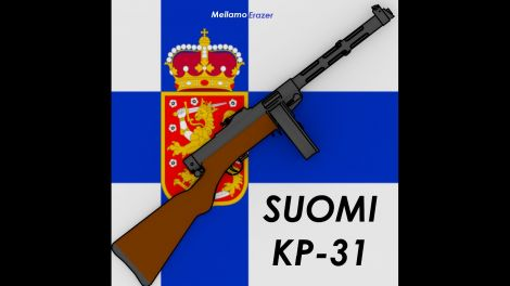 [WW2 Collection] Suomi KP-31