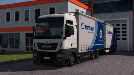 DLC Krone BDF addon for MAN TGX E6