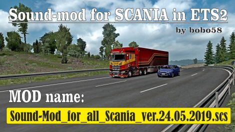 Sound mod for Scania