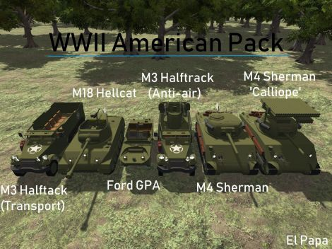 WWII American Pack